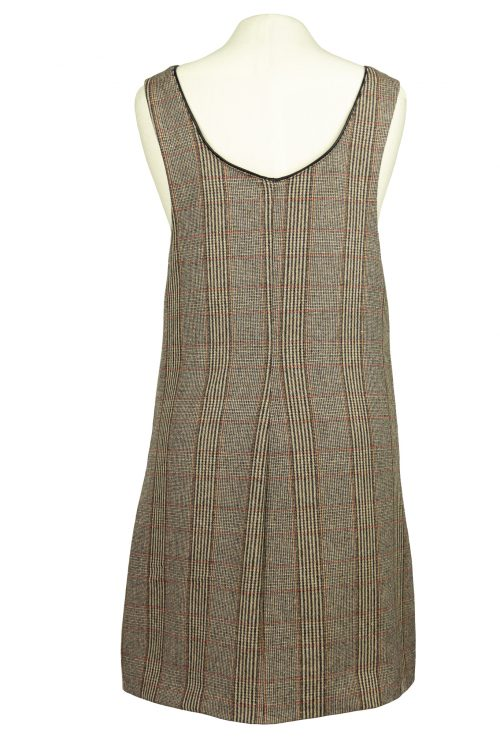 wool overall back